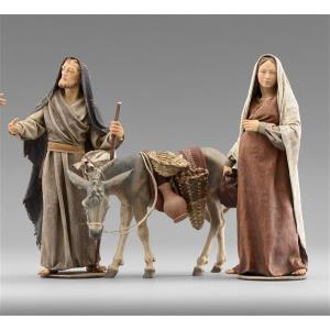 Mary and Joseph knocking on doors